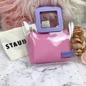 Staud x webster mini shirley bag lilac